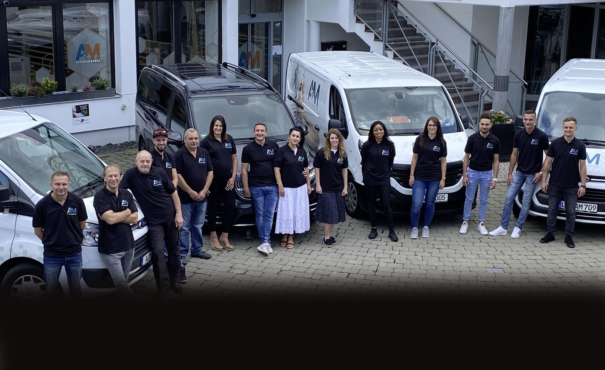 Team A&M Fliesenhandel und A&M Fliesendesign